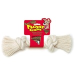 Mammoth Pet White Rope Bone-Small 9""