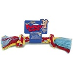 Mammoth Pet Color Rope Bone-Mini 6""