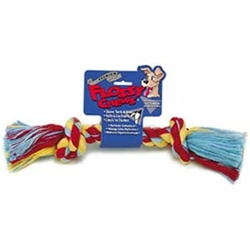 Mammoth Pet Color Rope Bone-Small 9""