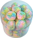 Pastel Flossed Balls 30/canister