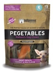 Pegetables Dental Chews - Small Mixed Veggies 15/bag (8.7oz)