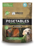 Pegetables Dental Chews - Medium Mixed Veggies 18/bag (18oz)
