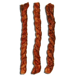 7-9 IN. Crunchy Lamb Meat Twists-50 Ct Case