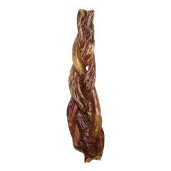 "Braided 6-7"" Porky Sticks 70/case, SALE REGULARLY $87.50"
