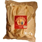 Natural White Beef Ears - 12/8 Packs