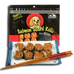 Snack 21 Salmon Sushi Rolls for Dogs - 12/ 1.272-oz Bags
