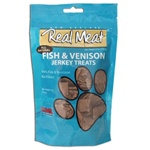 Real Meat Company Fish and Venison Treats for Dogs 12/4oz Bags