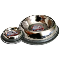 8oz Stainless Steel No Tip Mirrored Bowls