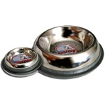 64oz Stainless Steel No Tip Mirrored Bowls