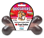 Mammoth Pet DogSavers Large Bone With Treat Station-7.25""